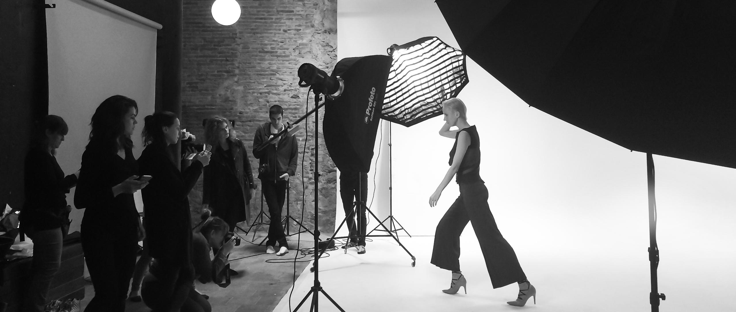 Sesion de fotos en Barcelona Photographer Studio