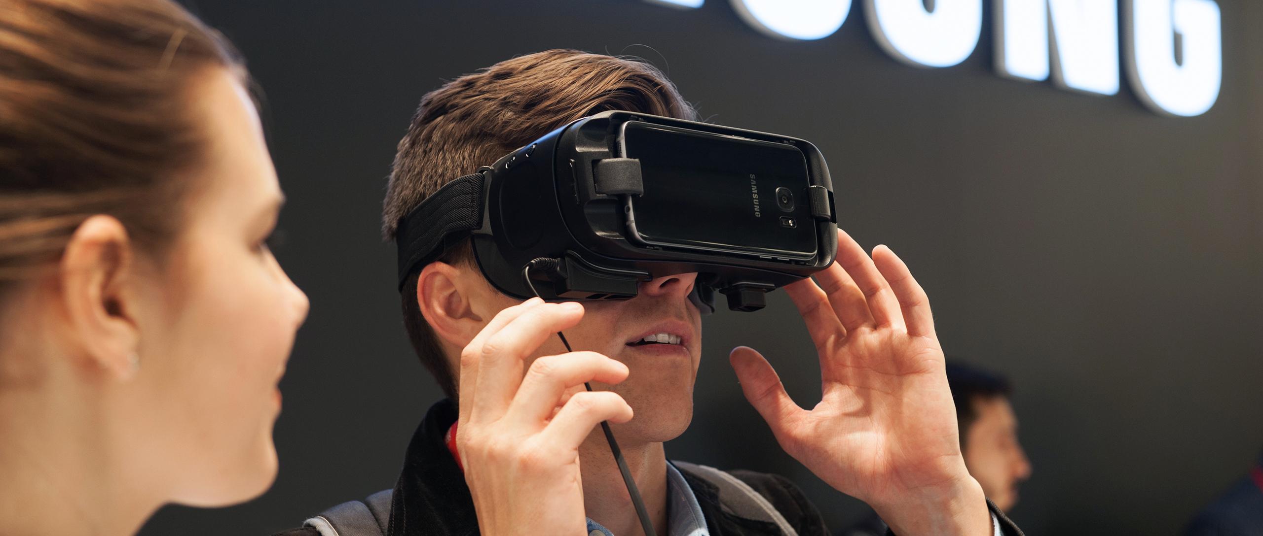 gafas VR Samsung por Barcelona Photographer