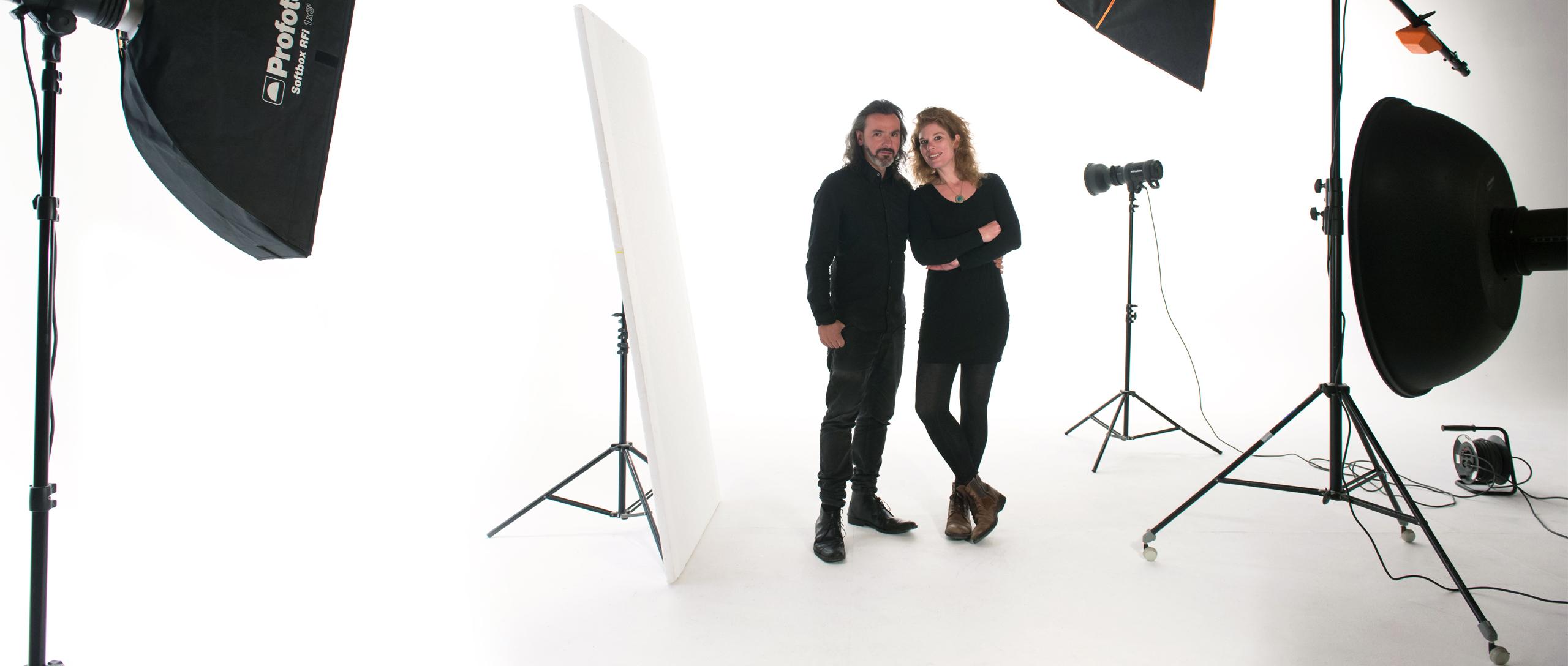 Katherin Wermke y Jesús Manuel Montane en Barcelona Photographer Studio