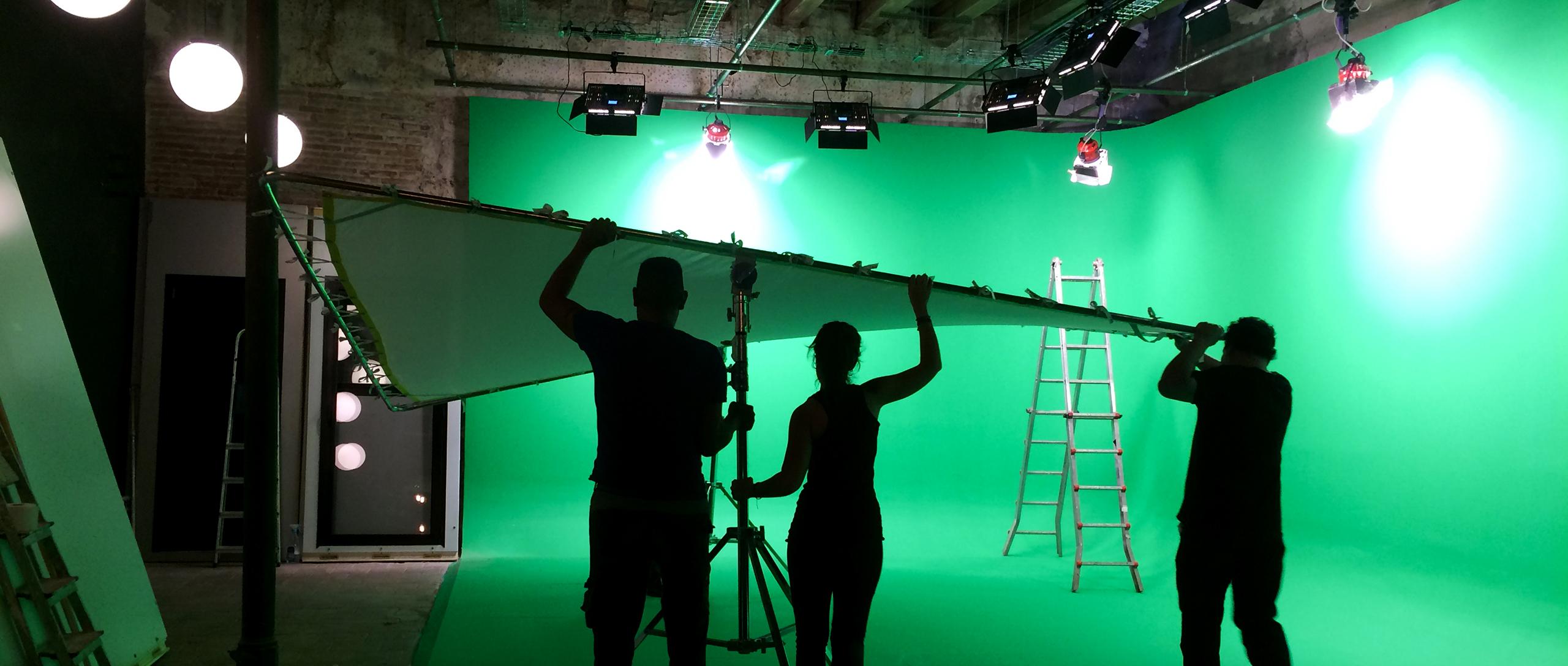 Alquiler de estudio croma para fotografía y video en Barcelona